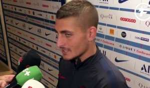 Paris SG-Nîmes : la réaction de Marco Verratti