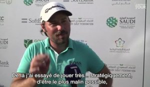 Saudi International (T3) : La réaction de Victor Dubuisson