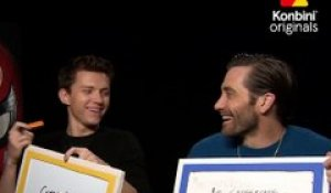 L'interview BFF de Tom Holland et Jake Gyllenhaal
