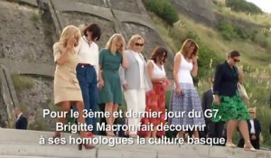 "G7: surf et protection des océans au menu des ""First ladies"""