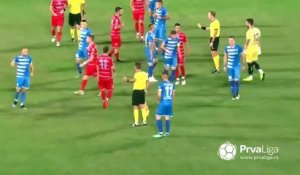 Un match de foot sans fair-play