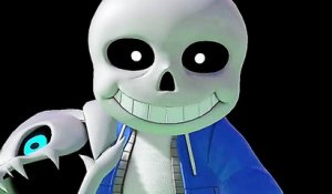 "SUPER SMASH BROS ULTIMATE ""Sans d'Undertale"" Bande Annonce de Gameplay"
