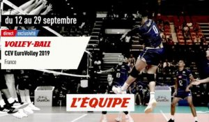Euro (M), bande annonce - VOLLEY - EUROVOLLEY2019