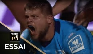 TOP 14 - Essai Paul WILLEMSE 2 (MHR) - Montpellier - La Rochelle - J3 - Saison 2019/2020