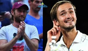 "US Open 2019 - Gilles Cervara, le coach de Daniil Medvedev : ""Putain... On y a cru !"""