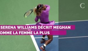 Meghan Markle : ce compliment de Serena Williams qui pourrait mettre dans l'embarras la duchesse de Sussex