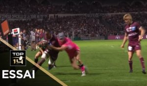 TOP 14 - Essai Cameron WOKI (UBB) - Bordeaux-Bègles - Paris - J4 - Saison 2019/2020