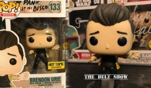 Funko Pop Brendon Urie Panic at the Disco Hot Topic Exclusive  Limited Edition Vinyl Figure