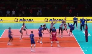 La France bat la Finlande et se qualifie pour les quarts - Volley - Euro (H)