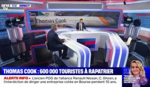 Faillite de Thomas Cook: 600 000 touristes à rapatrier (1/2) - 23/09