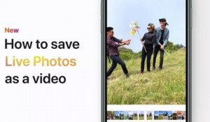 How to save Live Photos as a video on your iPhone, iPad, or iPod touch - Apple Support