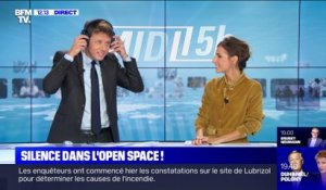 Silence dans l'open space ! - 09/10