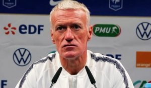 Football - Conférence de presse de Didier Deschamps qui évoque Hugo Lloris