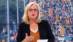 Catalogne : manifestation sous tension à Barcelone