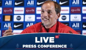 Replay : Conférence de presse de Thomas Tuchel avant Paris Saint-Germain - Olympique de Marseille