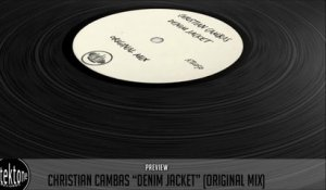Christian Cambas - Denim Jacket (Original Mix) - Official Preview (Autektone Records)