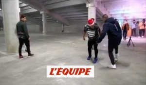 Memphis Depay ridiculise Rayan Cherki - Foot - WTF