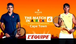 Les temps forts du show Federer-Nadal - Tennis - The match in Africa