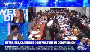Retraites : clashs et obstruction en commission - 08/02