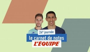 De Payet à Di Maria, le carnet de notes de la 24e journée - Foot - L1