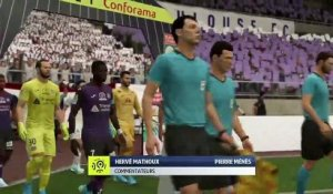FIFA 20 : on a simulé Toulouse-OL de la 12ème journée de Ligue 1