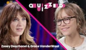 Zooey Deschanel Quizzes Grace VanderWaal on 'New Girl' Trivia | Quizzed