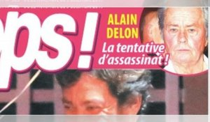 Alain Delon, le choc, tentative d'assassinat