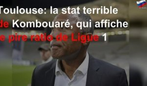Toulouse: la stat terrible de Kombouaré, qui affiche le pire ratio de Ligue 1