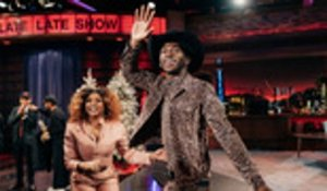 Lil Nas X Celebrates His Wild Year on 'Late Late Show' | Billboard News