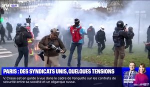 Paris: des syndicats unis, quelques tensions