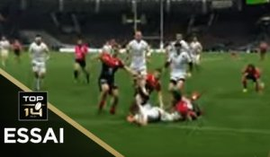 TOP 14 - Essai Louis CARBONEL (RCT) - Toulouse - Toulon - J12 - Saison 2019/2020