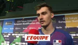 Patry «On a joué libéré» - Volley - TQO (H)