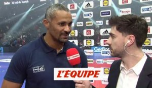 Dinart «Beaucoup de choses positives» - Hand - Bleus