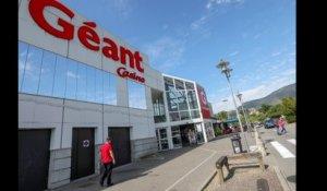 La Bijouterie Du Geant Casino De Villeneuve Loubet Braquee Par Un