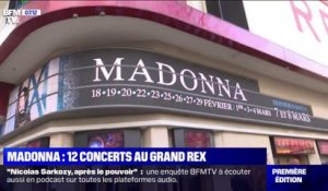 Madonna débarque samedi au Grand Rex à Paris mais attention il sera interdit de filmer le concert et son équipe