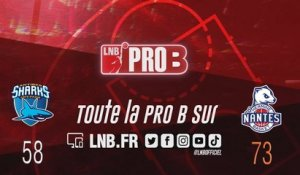 Leaders Cup PRO B : Antibes vs Nantes (finale)