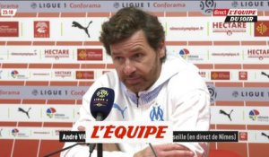 Villas-Boas «On a contrôlé le match» - Foot - L1 - OM