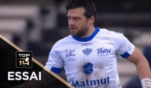 TOP 14 - Essai Julien CAMINATI (CO) - Bordeaux-Bègles - Castres - J17 - Saison 2019/2020