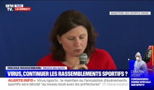 Virus: la ministre des Sports annonce le report des championnats de France de cross