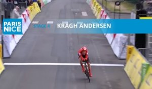 Paris-Nice 2020 - Étape 4 / Stage 4 - Kragh Andersen