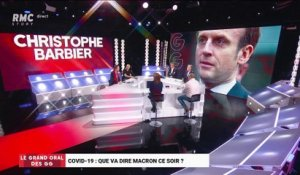 Le Grand Oral de Christophe Barbier, éditorialiste sur BFMTV - 16/03