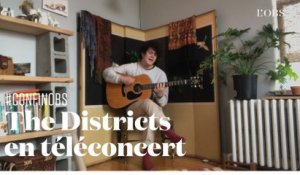 "Téléconcert : The Districts joue son ""Hey Jo"" en acoustique"