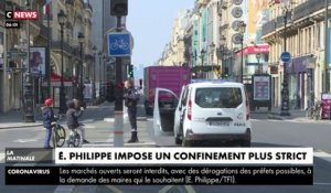 Edouard Philippe impose un confinement plus strict