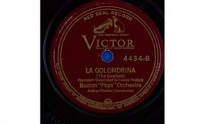 "Boston ""Pops"" Orchestra - La Golondrina (The Swallow) (1939)"