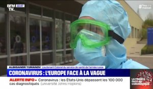 Coronavirus: l'Europe face à la vague