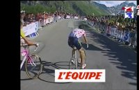 Le final de la 14e étape, remportée par Richard Virenque à Courchevel - Cyclisme - Tour de France 1997