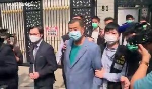 Vague d'arrestations chez les meneurs de la contestation à Hong Kong