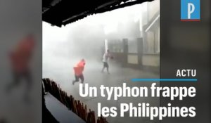 Le typhon Vongfong frappe les Philippines en plein confinement strict