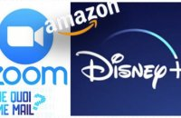 Zoom, Disney+, Amazon...les stars du confinement  DQJMM (1/2)