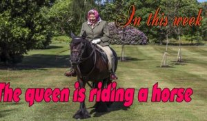 Queen Elizabeth Goes for a Horseback Ride While Self-Isolating at Windsor Castle